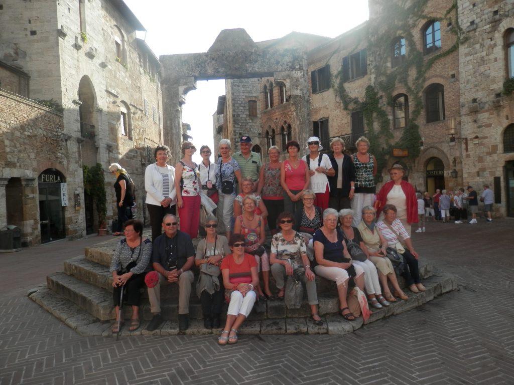 Rome et Toscane 2014 à San Gimignano