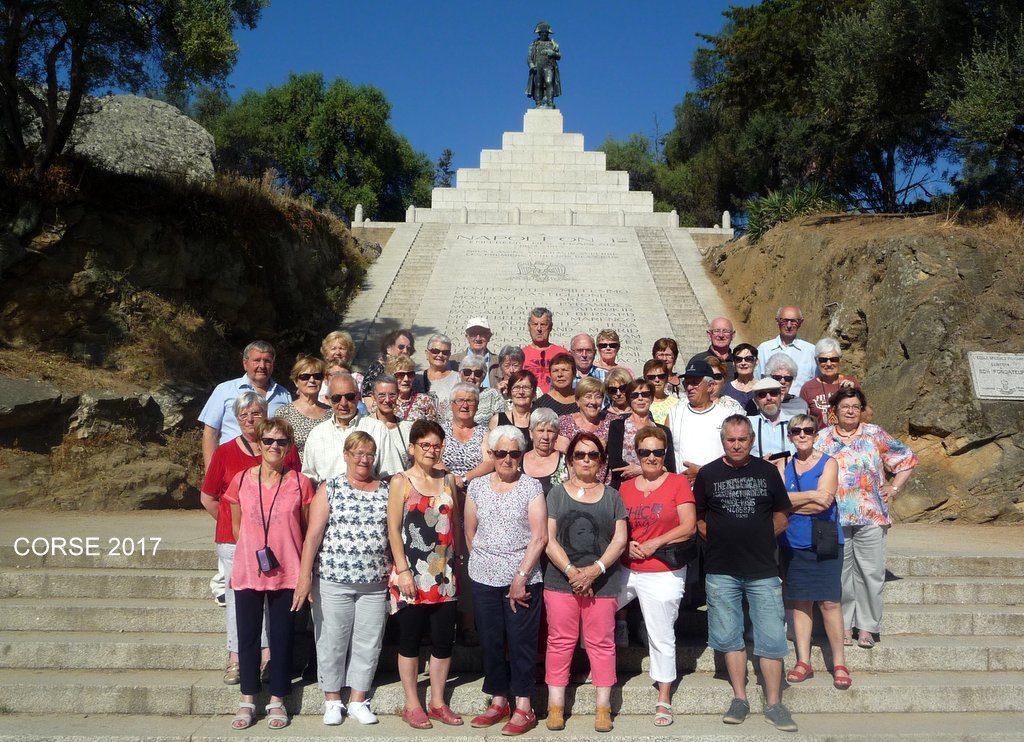 Corse 2017 avec Napoléon à Ajaccio